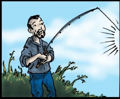 craig palying the fish