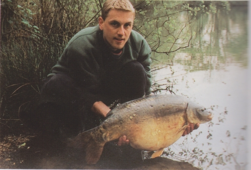 Scale on the shoulder 24lb 6oz